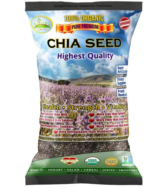 3D Chia Seed Front