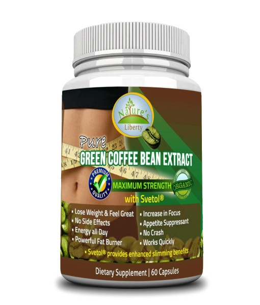 Green Coffee Bean Extract Front