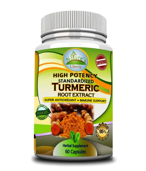 Turmeric Root Extract Front