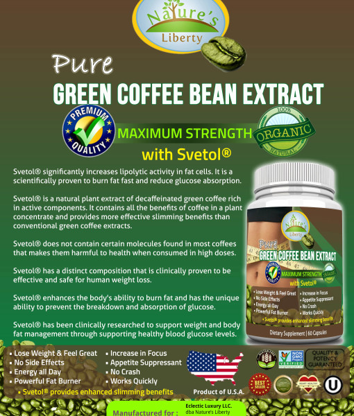 Green Coffee Bean Extract with Svetol | Weight Loss ... Aandsnaturalhealthstoregreencoffeebeanplus